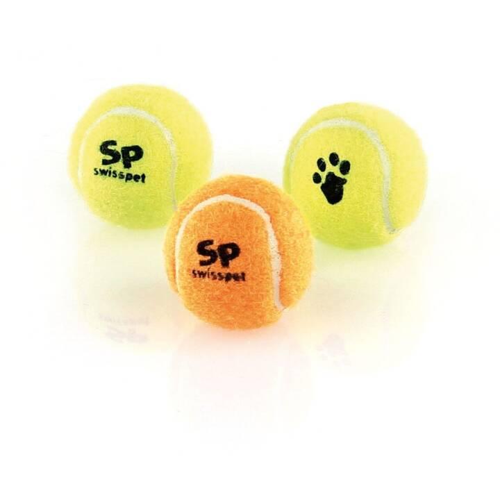 SWISSPET Jouets à lancer Tennisball 3 Stk., Quietscher (6.3 cm)
