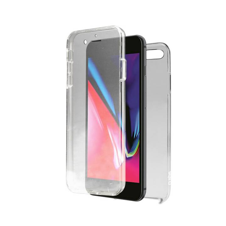 SBS Backcover Cover Full Body (iPhone 7 Plus, iPhone 8 Plus, Transparent)