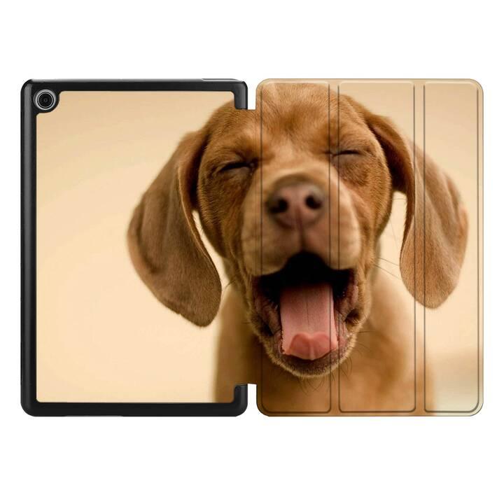 "EG MTT Coque pour HUAWEI MediaPad M5 Lite 8"" 2019 - chiens"