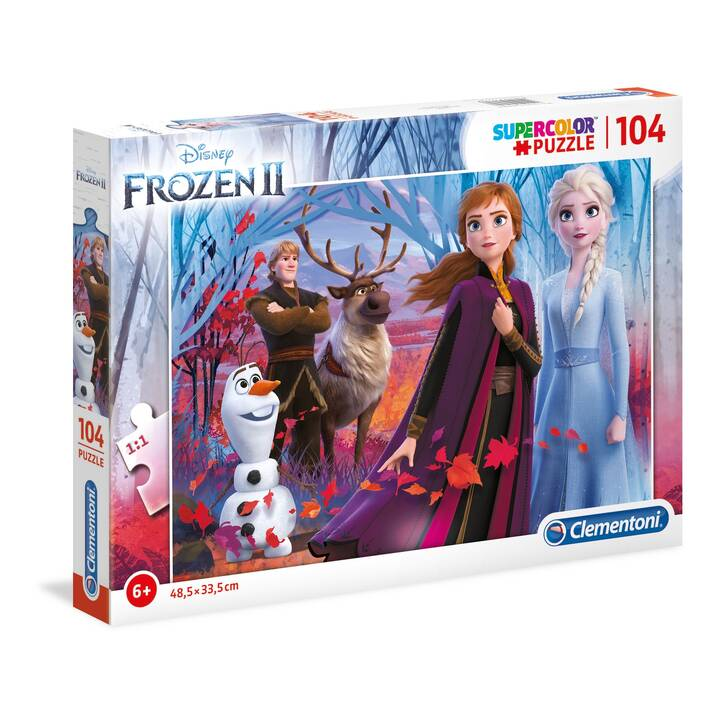 CLEMENTONI Frozen 2 (104 pièce, Puzzle 2D)