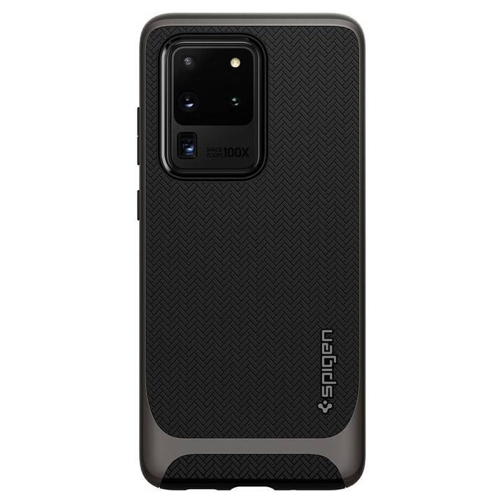 SPIGEN Backcover Neo Hybrid (Galaxy S20 Ultra, Schwarz, Metallic)