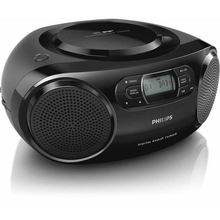 PHILIPS AZB500 Radio (Nero)