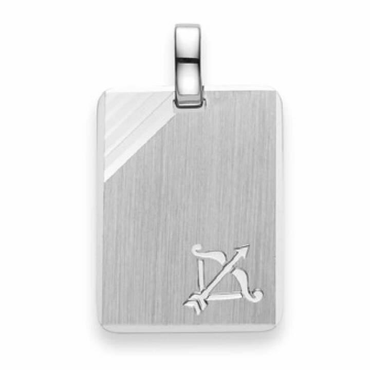 MUAU Sternzeichen Schütze Anhänger (Ohne Stein, 24 x 14 mm)