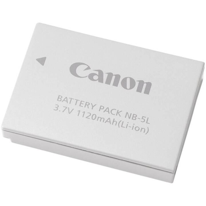 CANON NB-5L batteria ricaricabile della fotocamera, bianco