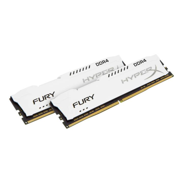 HYPERX Fury White (2 x 8 GB, DDR4-SDRAM, DIMM 288-Pin)