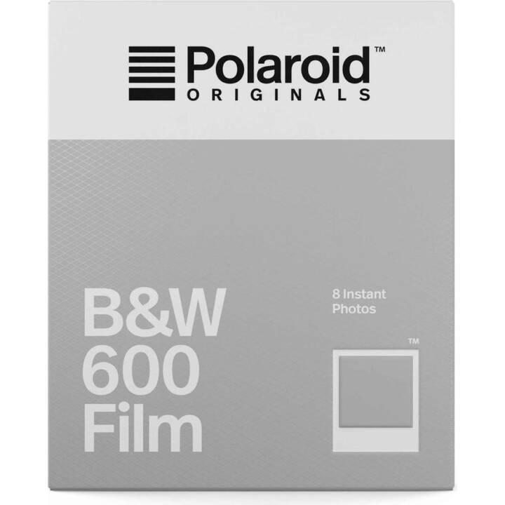 POLAROID B & W 600 Film 8 Stück
