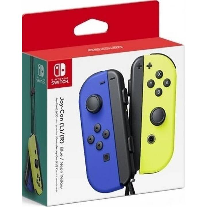 NINTENDO Joy-Con Gamepad (Giallo neon, Blu)