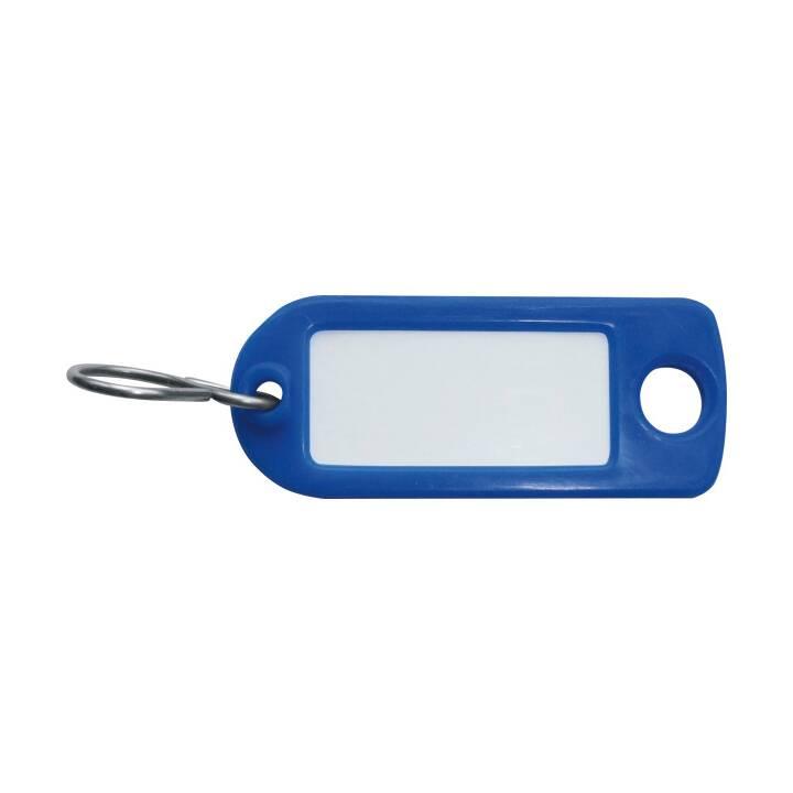 Portachiavi RIEFFEL, blu, 100 pz.
