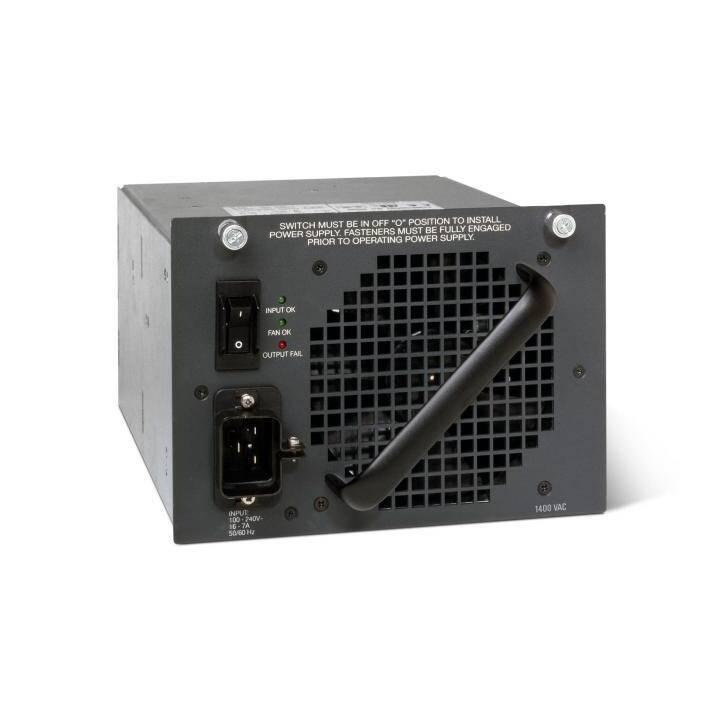 CISCO Catalyst 4500 Netzteil, 1000 W, Schwarz