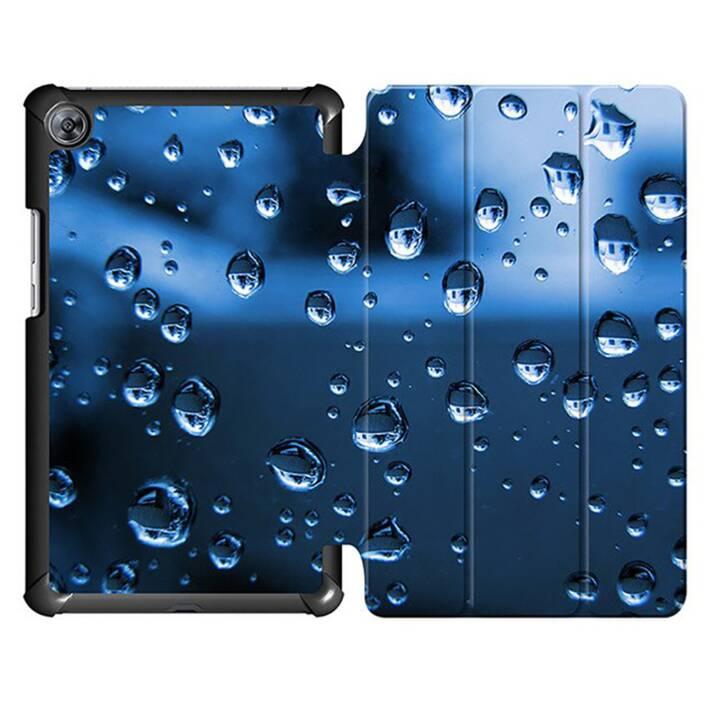 """EG MTT Housse tablette pour Huawei Mediapad M5 8.4"""" - Gouttes d'eau"""