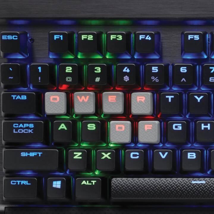 CORSAIR Gaming K65 LUX RGB (Suisse, USB, Câble)
