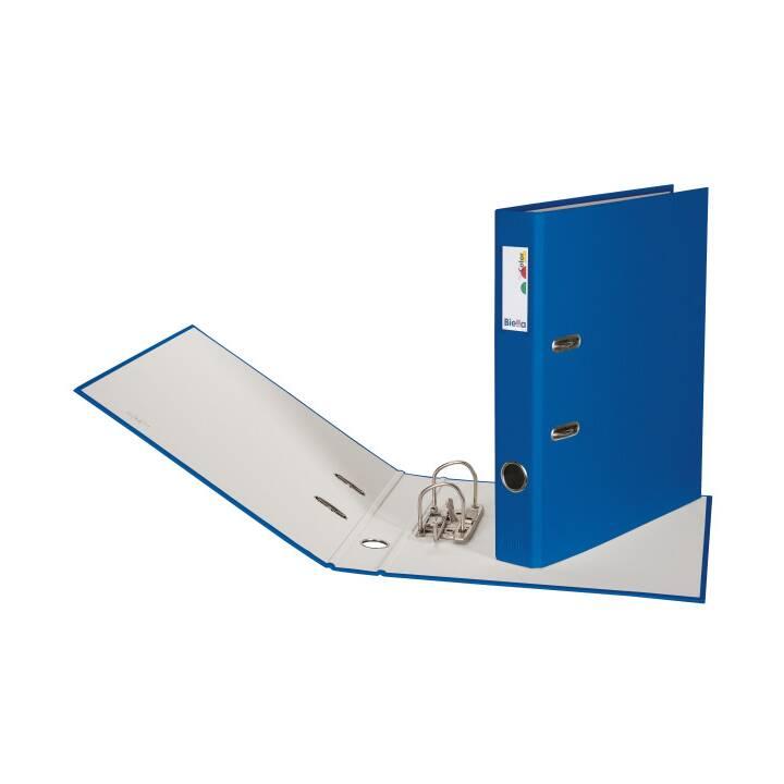 BIELLA pochette 4cm A4 A4 bleu foncé