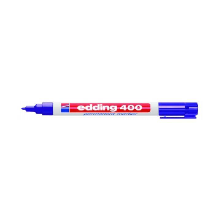 EDDING Marqueur permanent 400 (Violet, 1 pièce)