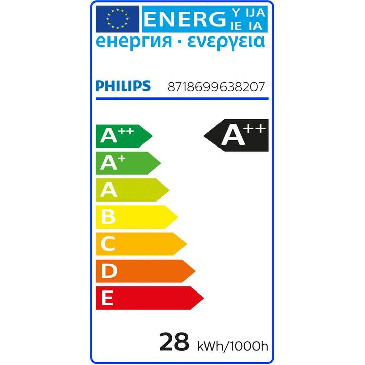 PHILIPS Lampada (LED, E27, 28 W)