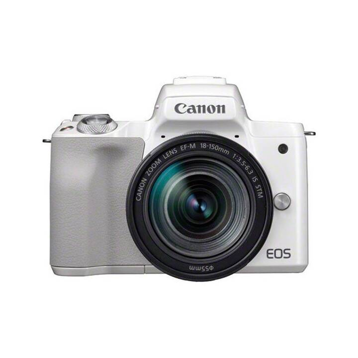CANON EOS M50 Kit 24.10 MP White + EF-M 18 - 150 mm