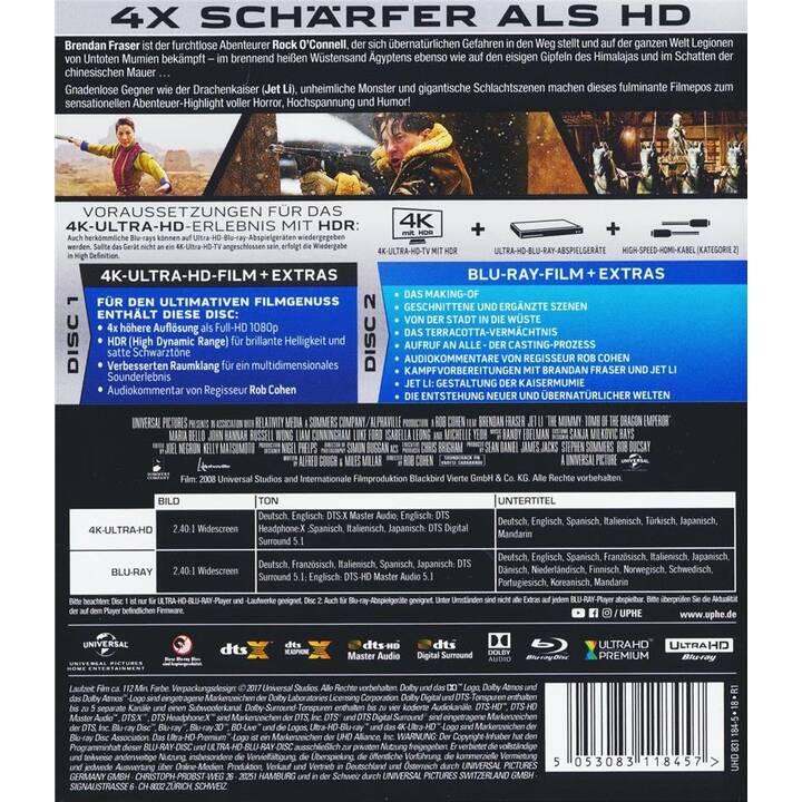 Die Mumie 3 - Das Grabmal des Drachenkaisers 4K Ultra HD Blu-ray (DE, EN, ES, IT, JA)