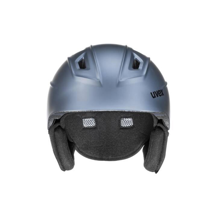 UVEX Casco da sci (M, Blu chiaro)