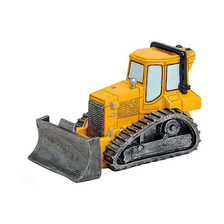 SOMBO Bulldozer Tirelire (Jaune, Noir)