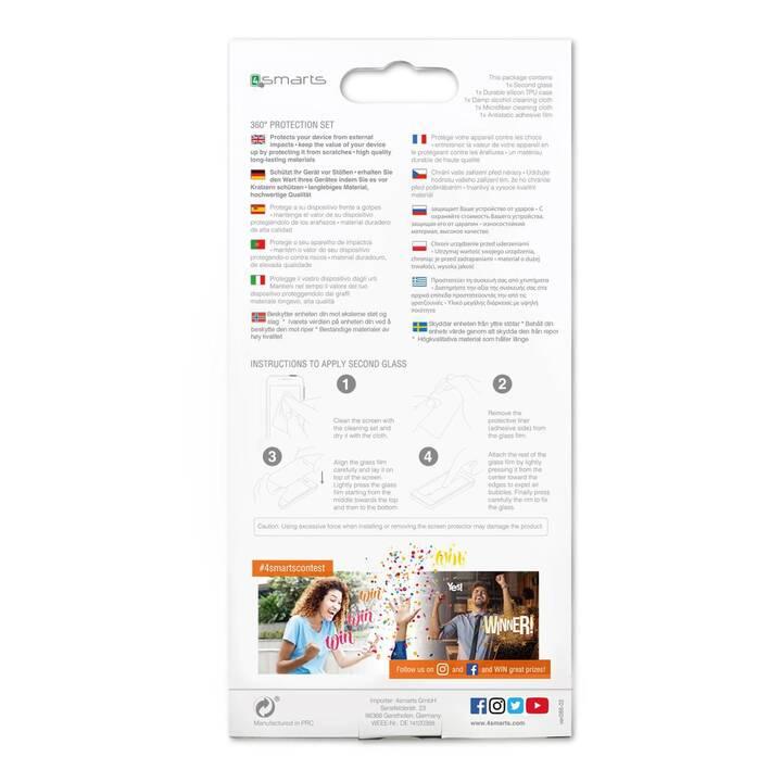 4SMARTS Ensemble 360° Premium Protection (iPhone 11 Pro, Transparent, Noir)