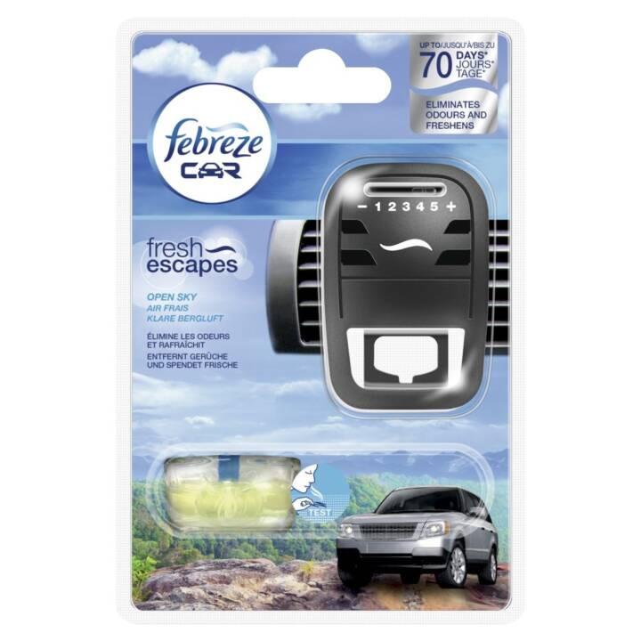 FEBREZE Auto deodorante per auto Fuga Starter Kit Starter Kit Aria di montagna