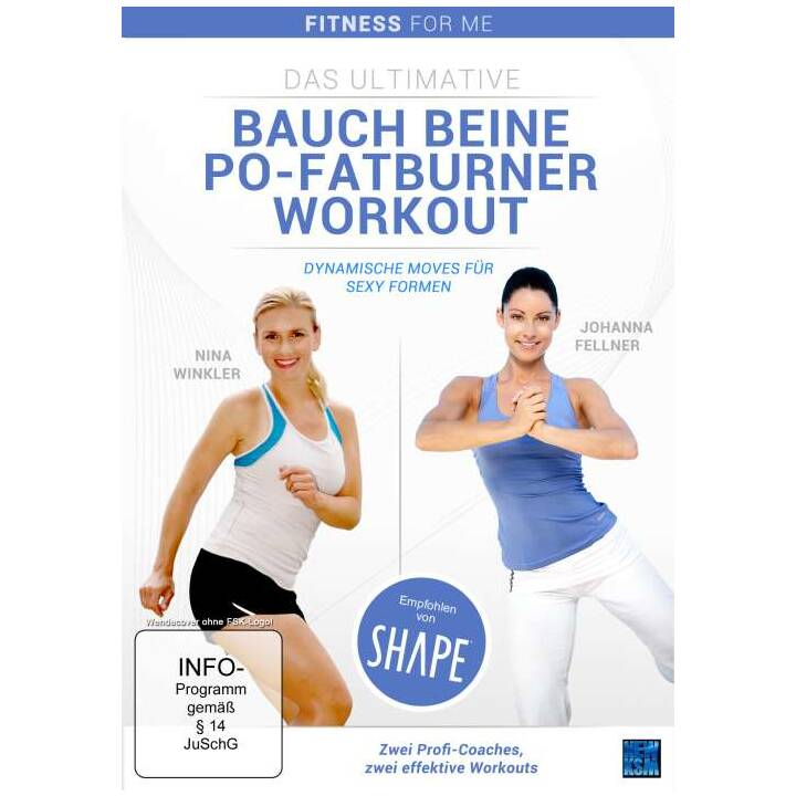 Das Ultimative Bauch Beine Po - Fatburner Workout - Fitness for Me (DE)