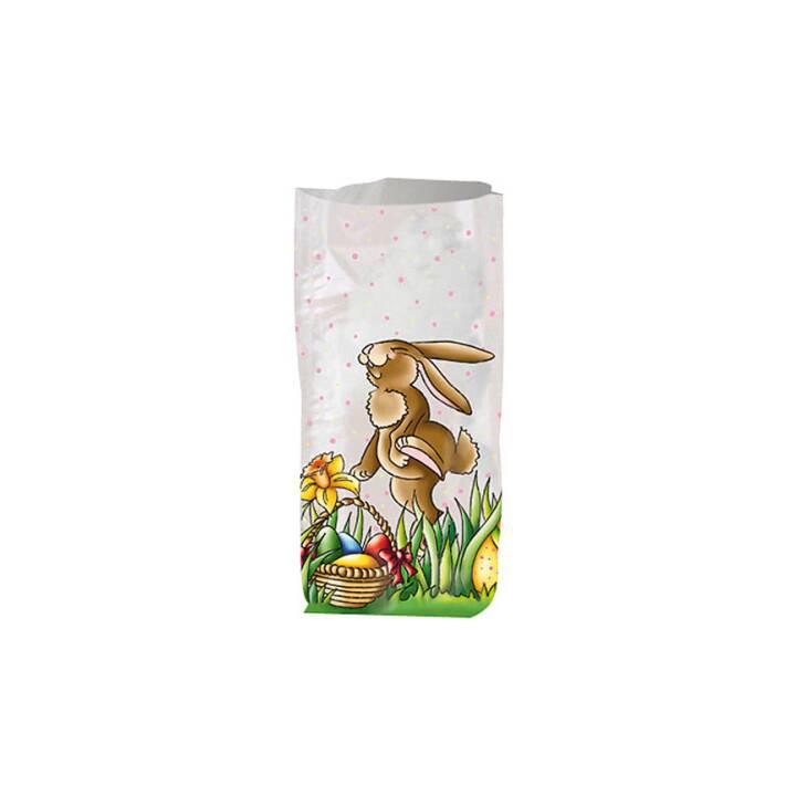 URSUS Sachet cadeau (14.5 cm x 23.5 cm, Multicolore, Pâques)