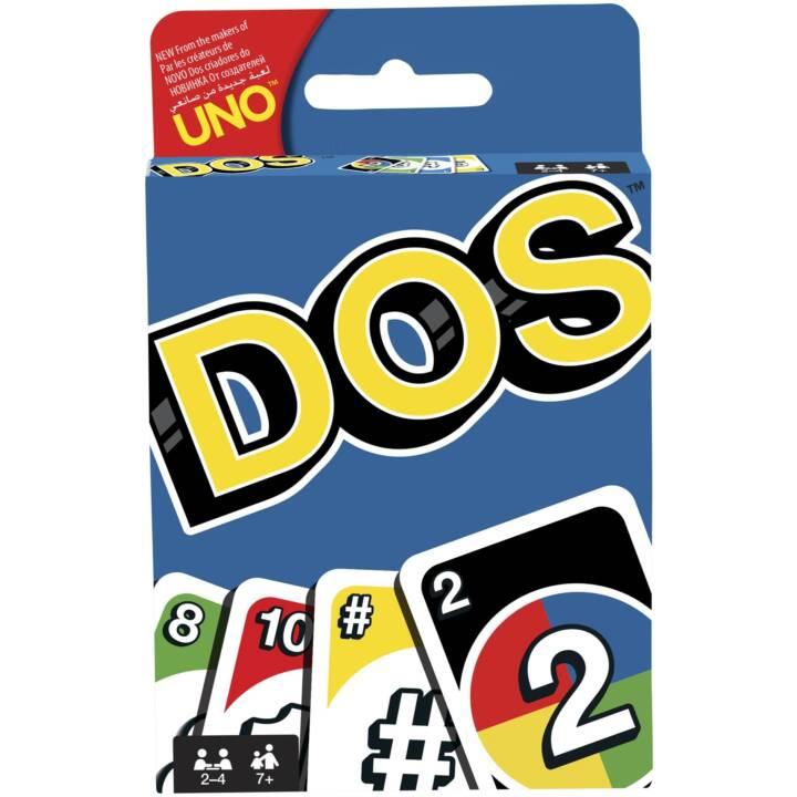 MATTEL Jeu de Cartes de Jeux DOS
