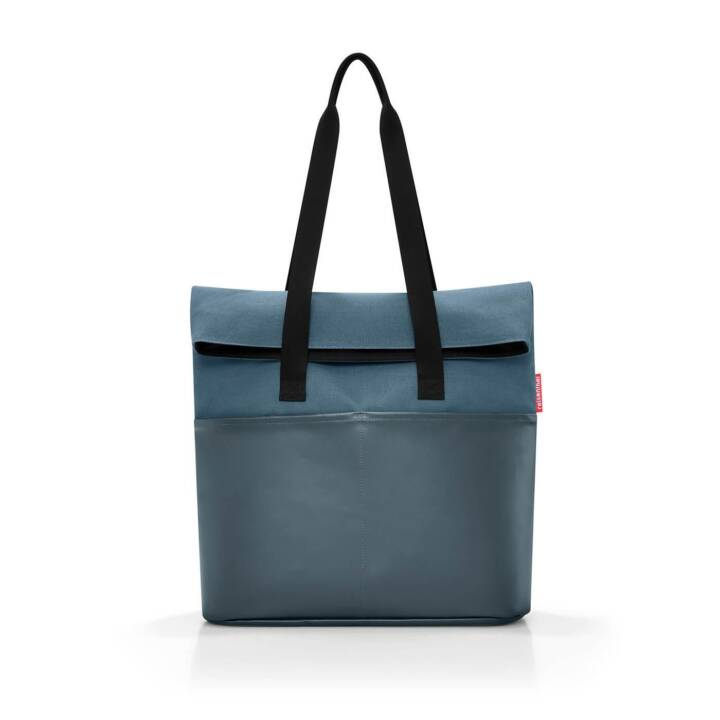 REISENTHEL Foldbag Canvas Blue