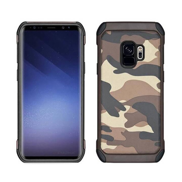 EG Jisoncase custodia per Samsung Galaxy S9 - grigio