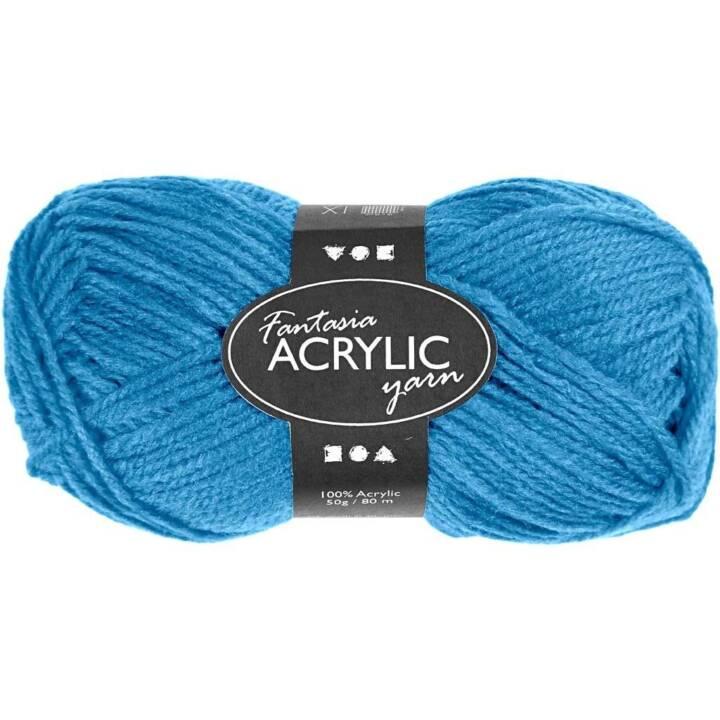 CREATIV Fil acrylique, 50 g, turquoise