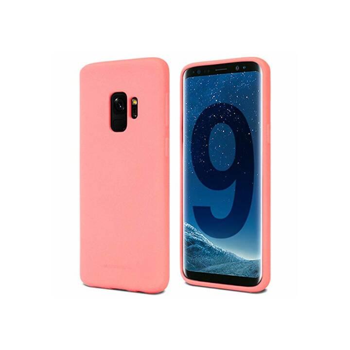 EVELATUS Backcover TPU (Galaxy S9, Sandrosa)