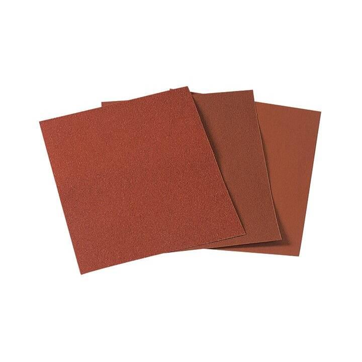 WOLFCRAFT Lots de papier de verre Super (80, 1 pièce)