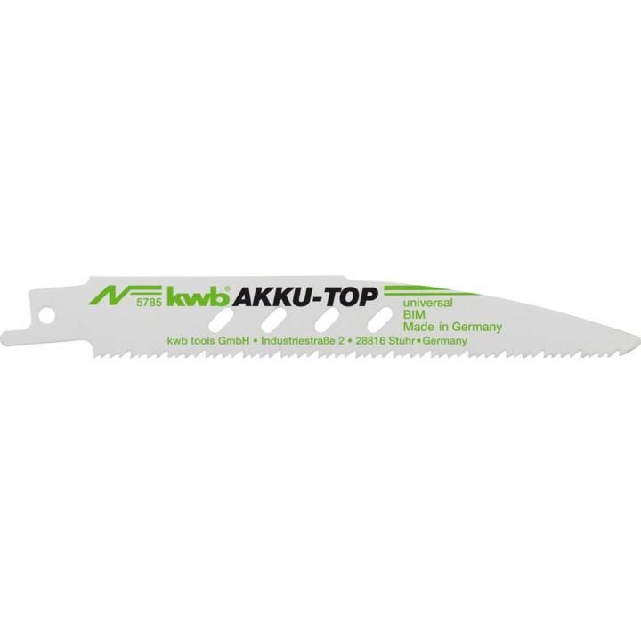 KWB Säbelsägeblätter-Set Akku-Top