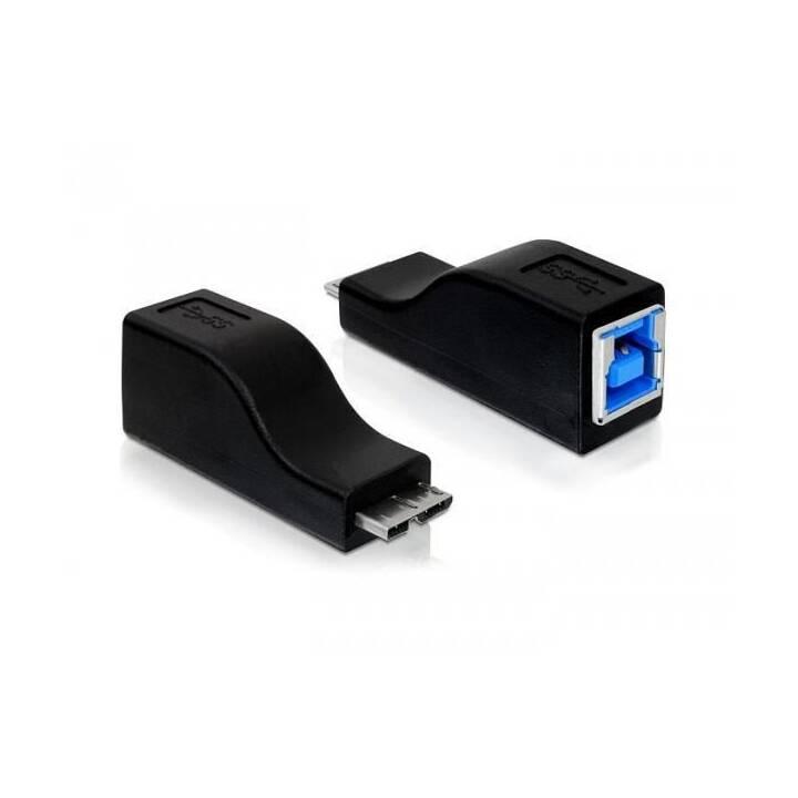 DELOCK USB 3.0 Adapter USB-B Buchse - USB-MicroB Stecker