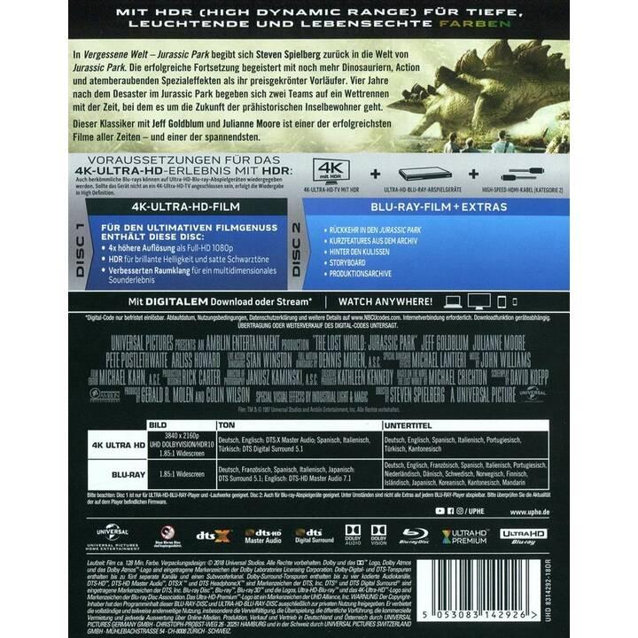 Jurassic Park 2 - Die vergessene Welt (4K Ultra HD, ES, IT, DE)