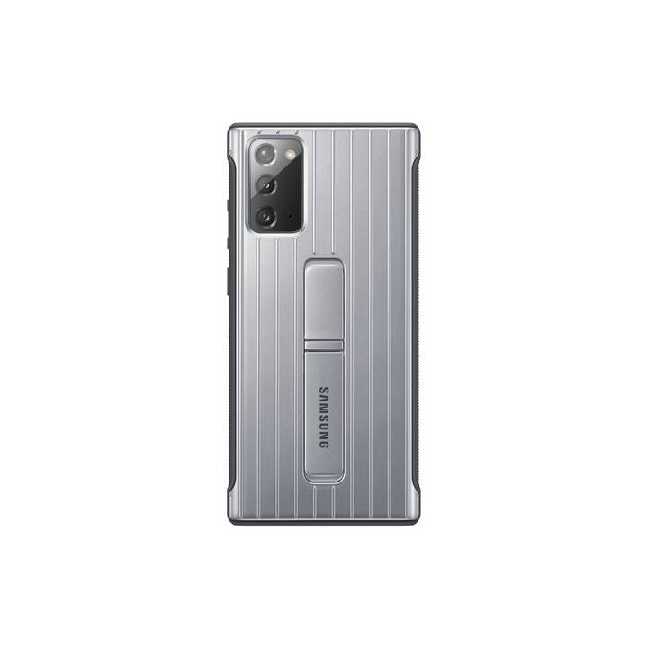 SAMSUNG Backcover Protective Standing (Galaxy Note 20, Galaxy Note 20 5G, Argento)