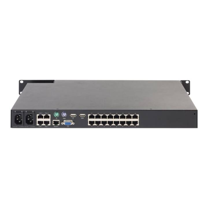 APC KVM 2G Enterprise Digital/IP KVM-Switch, 16 Anschlüsse, an Rack montierbar
