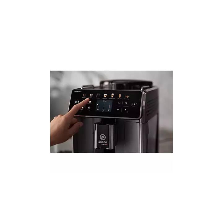 SAECO GranAroma SM6585/00 (Schwarz, Metallic, Kaffeevollautomat)