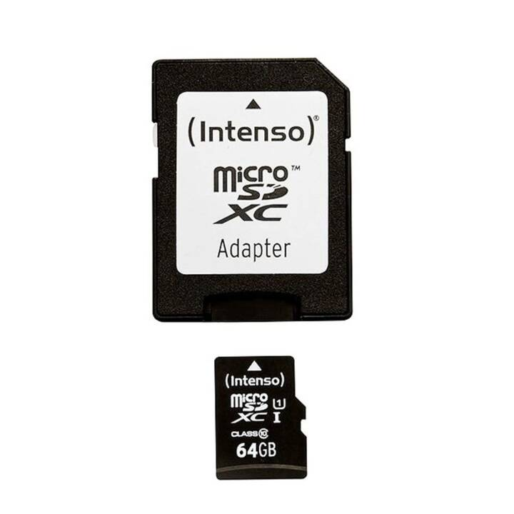 INTENSO microSDXC 64 Go