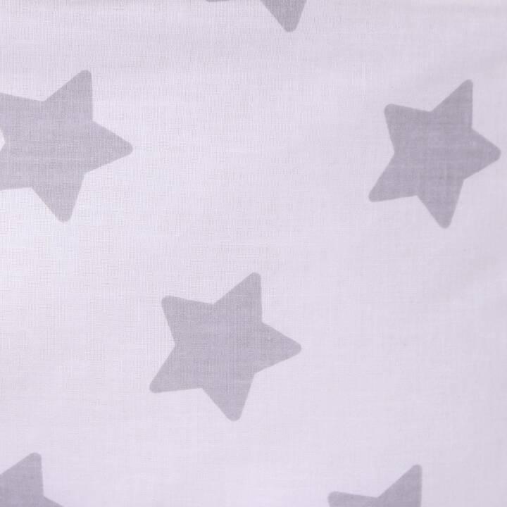 LULANDO Kuscheldecke Minky (Sterne, 100 cm x 80 cm)