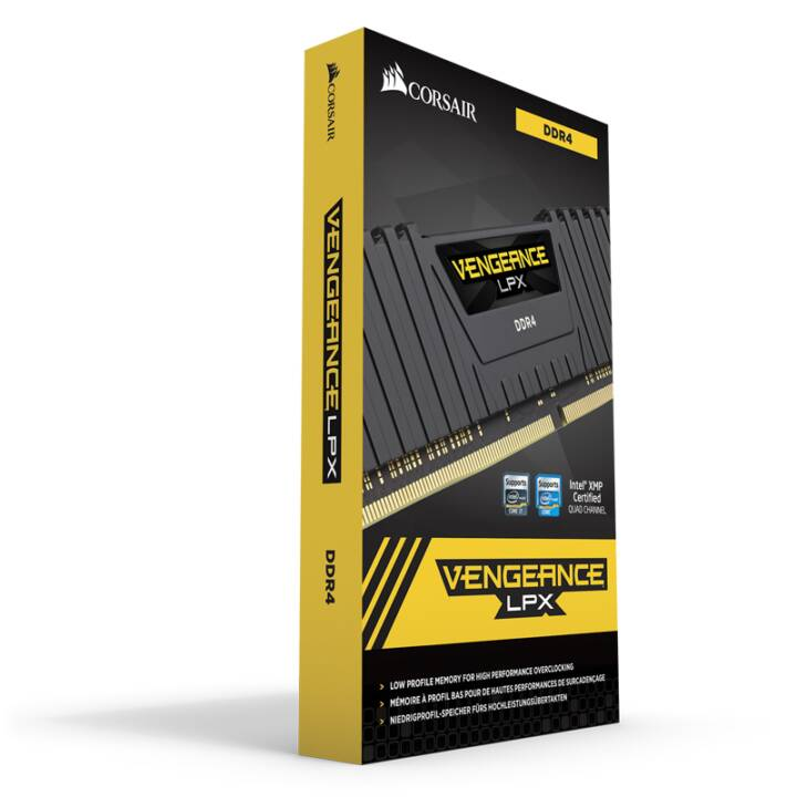 CORSAIR Vengeance LPX, DDR4, 4 x 16 GB, DIMM 288-PIN