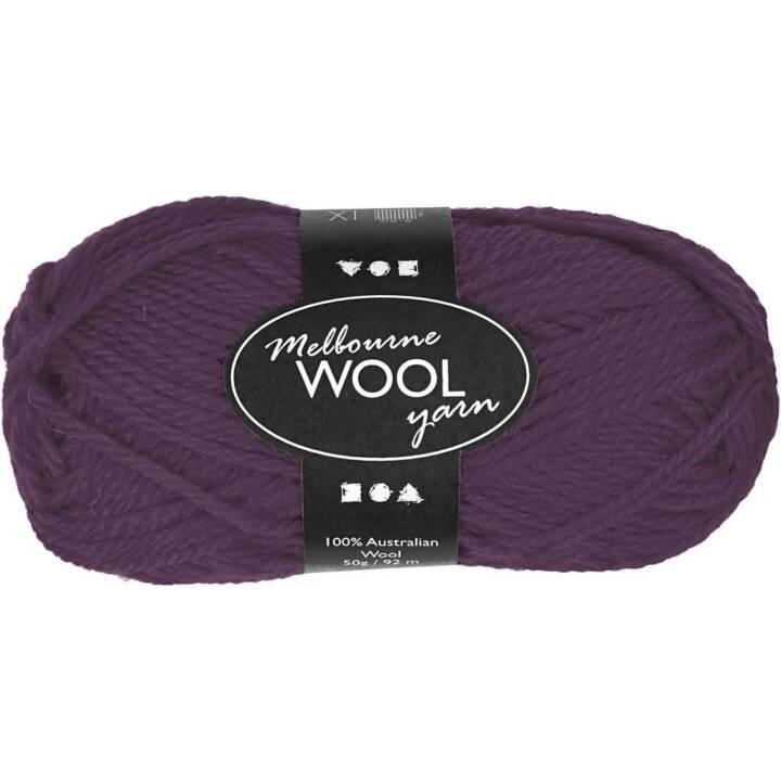Creativ Company Wolle Melbourne 50 g Vio