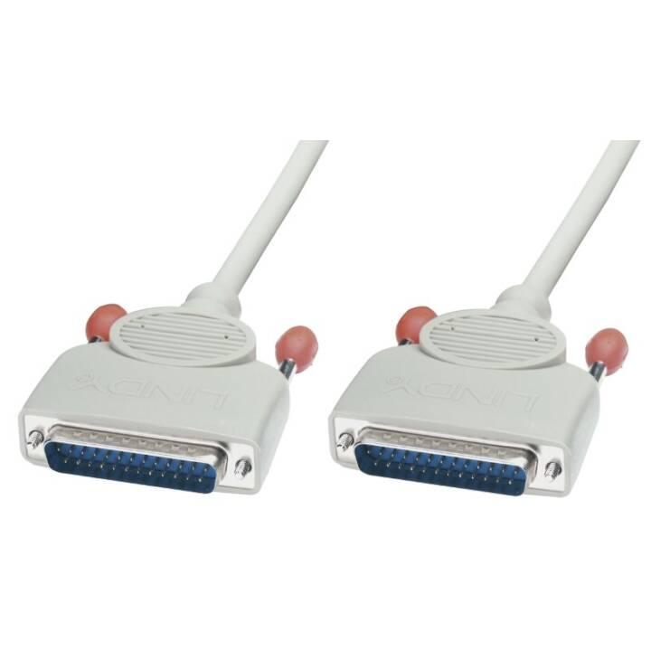 LINDY Câble réseau (D-Sub (25-pin), D-Sub, 25-pôles, 2 m)