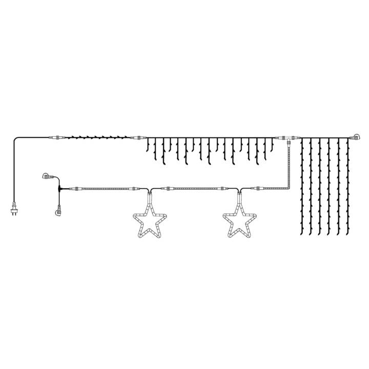 STAR TRADING LED Lichterkette Expo (10 m)