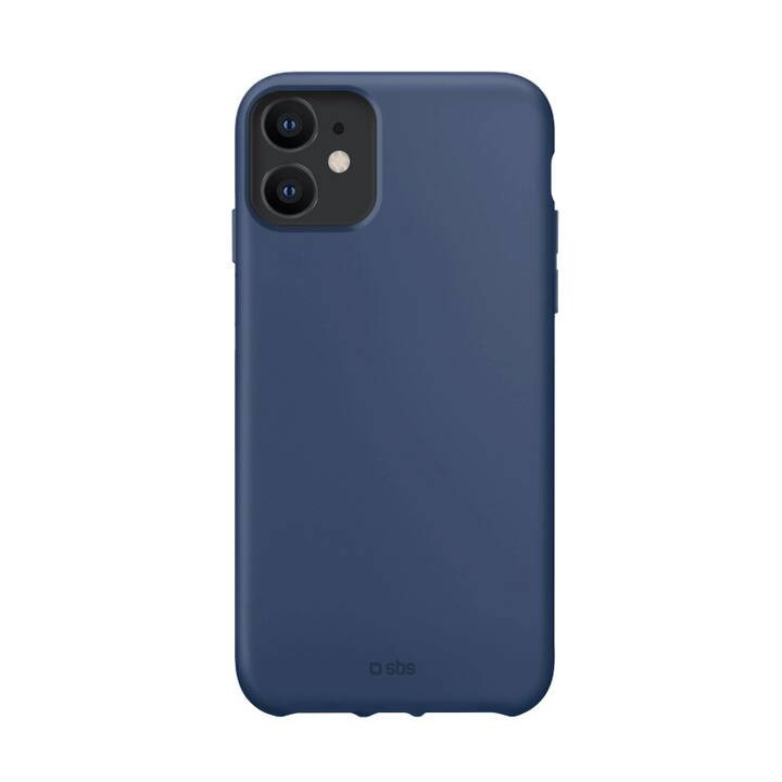 SBS Backcover Recycled Plastic Only (iPhone 12 Mini, Blau)
