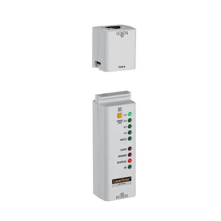 Laserliner Elektro-Prüfgeräte LAN-Check