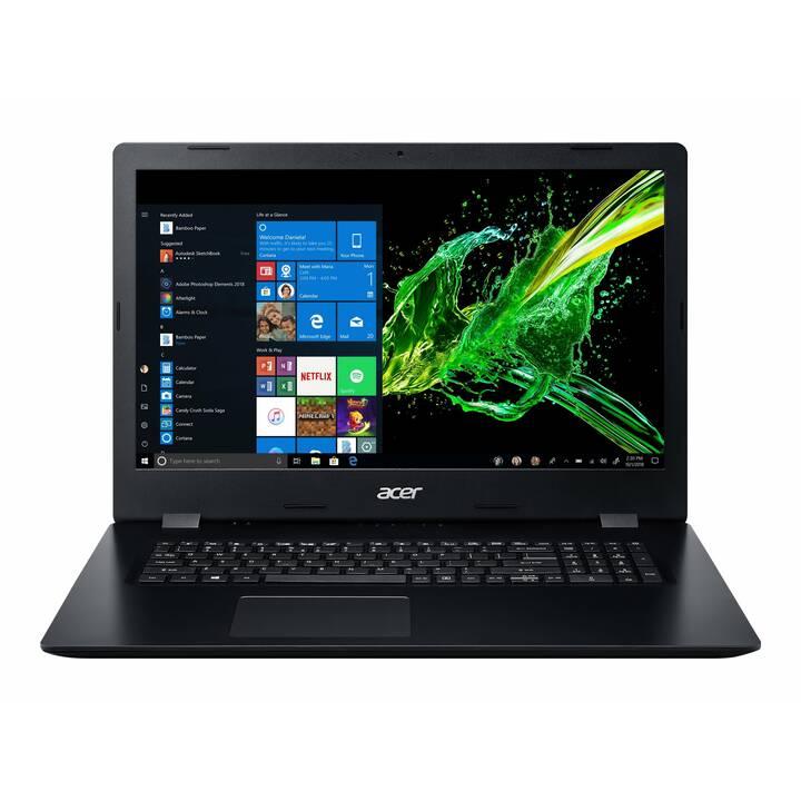 """ACER Aspire 3 A317-51G-73YB (17.3 """", Intel Core i7, 12 GB RAM, 1 TB SSD, 2 TB HDD)"""