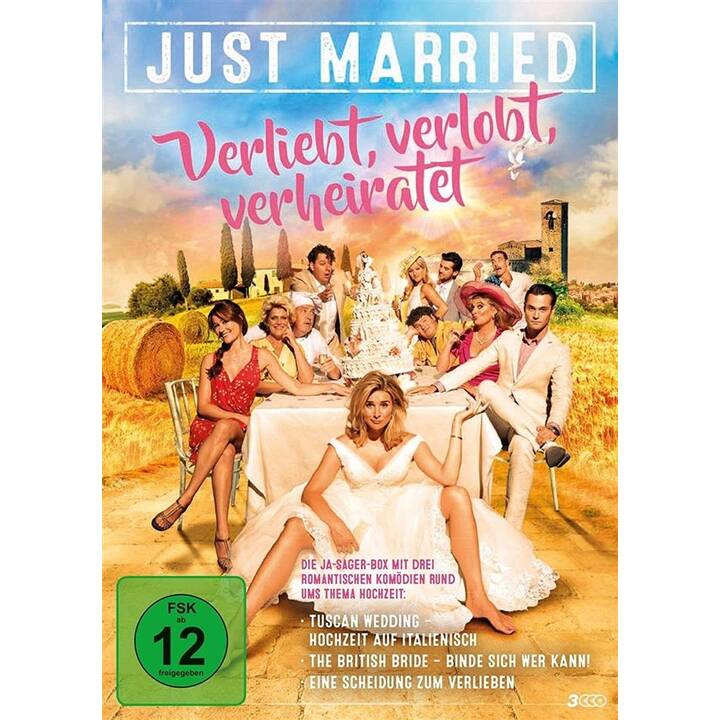 Just Married - Verliebt, verlobt, verheiratet - 3 Spielfilme Box (DE)