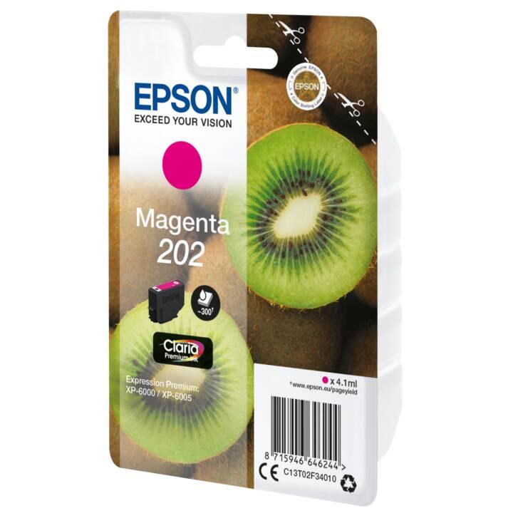 EPSON Tintenpatrone 202 Magenta