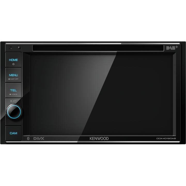 KENWOOD Moniceiver DDX4019DAB 2 DIN (DAB+, Schwarz, Bluetooth)